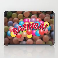 bazinga iPad Cases featuring Bazinga! - Ball Pit by MaNia Creations