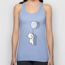 Hungry Westie Puppy Unisex Tank Top