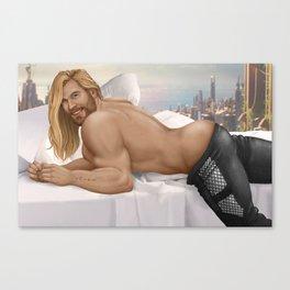 Asgard & Chill Canvas Print