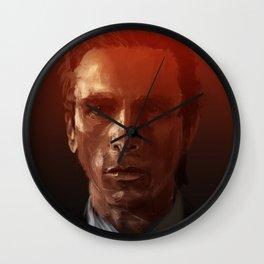 Christian Bale Wall Clock