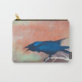 Crow Scream Carry-All Pouch