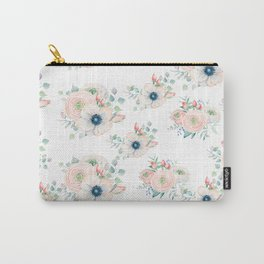 Dog Rose Pattern 2 Carry-All Pouch