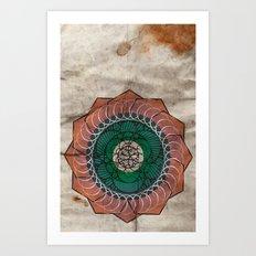 Spirography Art Print