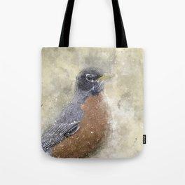 Rusty Robin Tote Bag