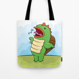 Humphrey the Deranged Platypus Monster Tote Bag