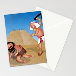 Jewish Slaves in Egypt Stationery Cards