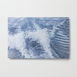 Boat Wake 11 Metal Print