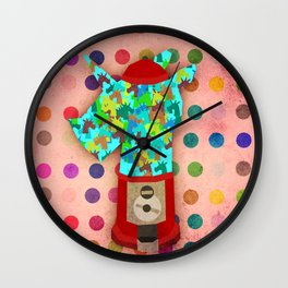 Gumball Unicorns Wall Clock