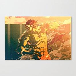 eren fulltitan mode Canvas Print