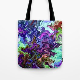 Mudded Two Tote Bag