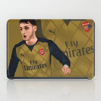 arsenal iPad Cases featuring Mesut Özil by siddick49