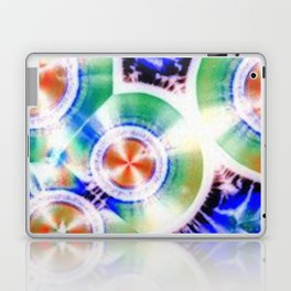 Happy Vitamin C Crystals in Sunlight Laptop & iPad Skin