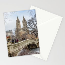 Bow Bridge, Central Park, NYC Stationery Cards