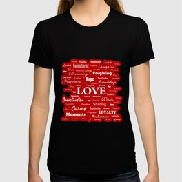 Love is Red & White T-shirt