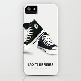 Back to the Future - Alternative Movie Poster iPhone Case