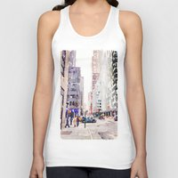 nyc Tank Tops featuring NYC by Christine Workman