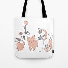 Fatty cat Tote Bag