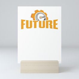 Future Engineer Cool Profession Graduating Students Gifts Mini Art Print