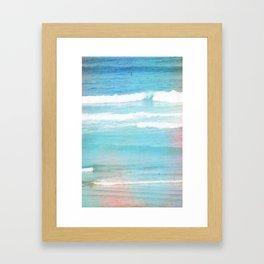 OCEAN 2 Framed Art Print