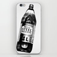 oz iPhone & iPod Skins featuring 40 OZ by Brandon Green