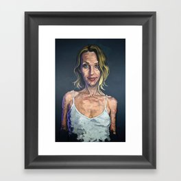 Self Assured Framed Art Print