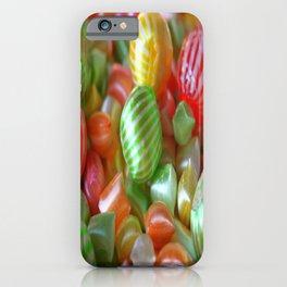 Multi-Colored Striped Candy iPhone Case