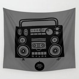 Boomboombox Wall Tapestry