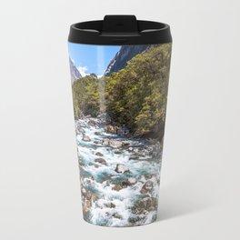 Untamed River, New Zealand Travel Mug