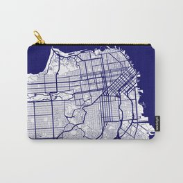 San Francisco City Map 02 Carry-All Pouch