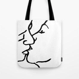 Frida's kiss Tote Bag