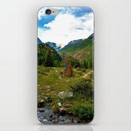garden further alps kaunertal glacier tyrol austria europe iPhone Skin
