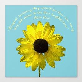 Brightest Lives Canvas Print