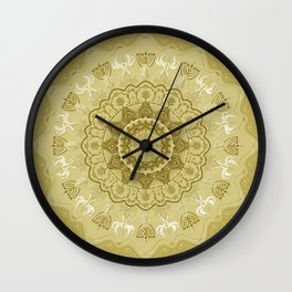 chanukkah-mandala-angels-candelars-judaica art-Jewish Holidays-joy-light-gift-3D effect Wall Clock