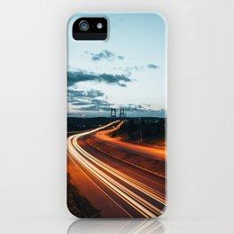 Highway Lights iPhone Case
