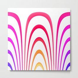 Cheerful lines Metal Print