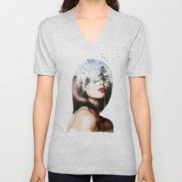 Lisa Mona Unisex V-Neck