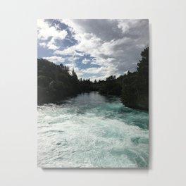 Aratiatia Rapids, Taupo, New Zealand Metal Print