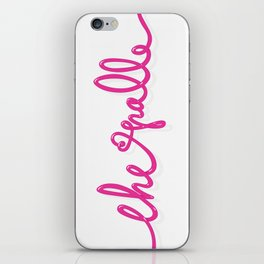 CHE PALLE iPhone Skin