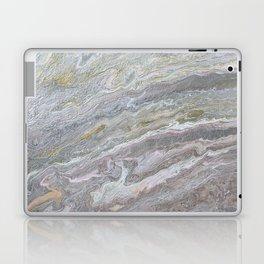 Gold, White, Grey, and Pink Laptop & iPad Skin