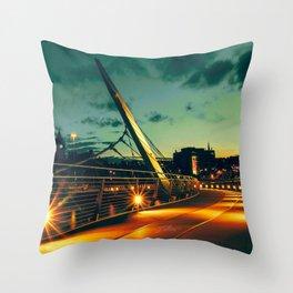 St Patrick's Sunset Throw Pillow