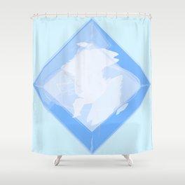 Sprite Shower Curtain