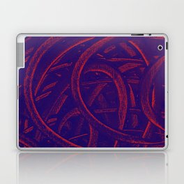 Junction - Purple and Red Laptop & iPad Skin