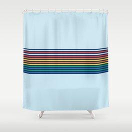 Vintage T-shirt No4 Shower Curtain