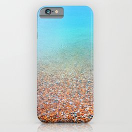 clear water iPhone Case