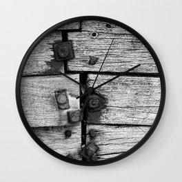 Cromer Groyne, Norfolk Wall Clock