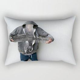 Having fun Rectangular Pillow