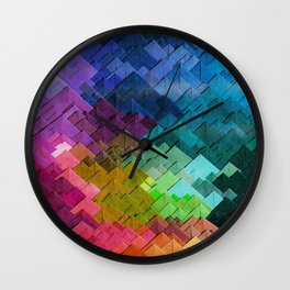 Just colors Wall Clock