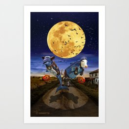 Halloween II Art Print