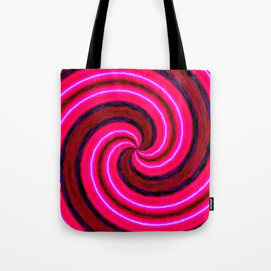 Abstract Pink Modern Tote Bag