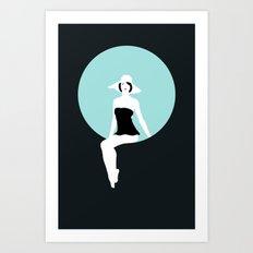 Girl #5 Art Print